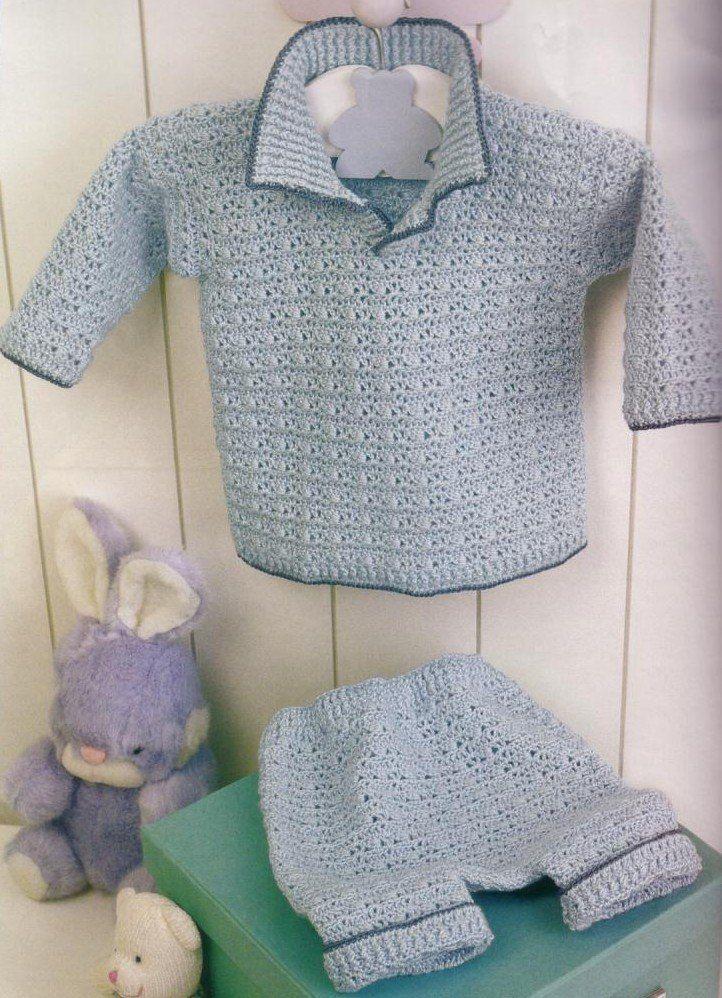 1000 images about tejidos bebes varones on pinterest - Cambiador de bebe de pared ...