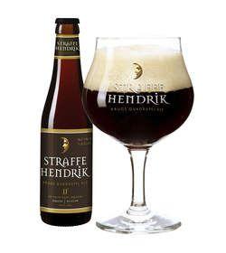 Straffe Hendrik Quadrupel - Brouwerij De Halve Maan, Brugge, belgië. Beoordeling GGOB: 5,7