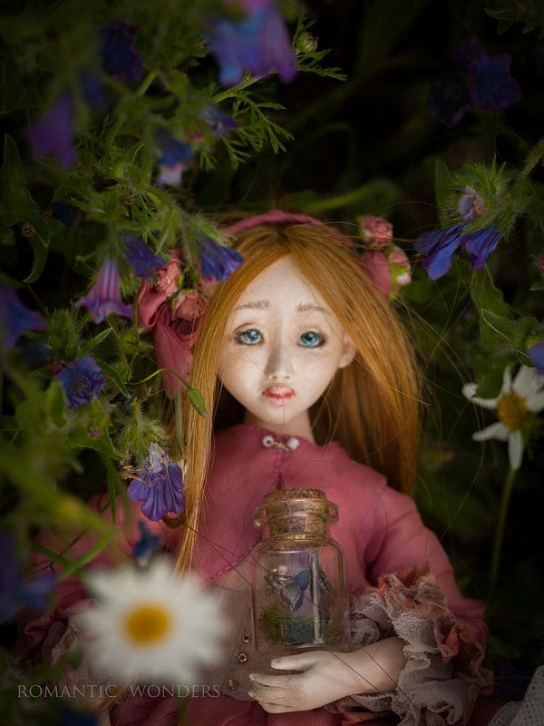 ''Spring Gardeners'' by Romantic Wonders Dolls