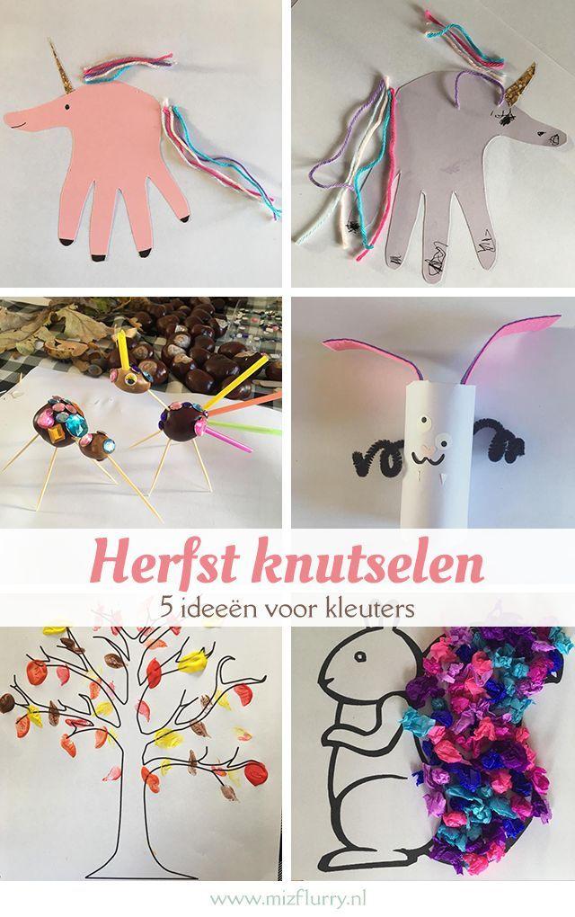 Extreem 5x herfst knutselen met kleuters | mizflurry.nl - Raising kids en DIY @XC52