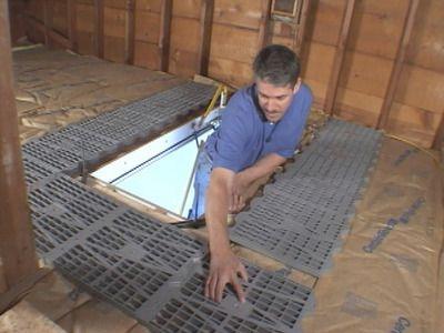 Attic Flooring For The Home Pinterest Flooring