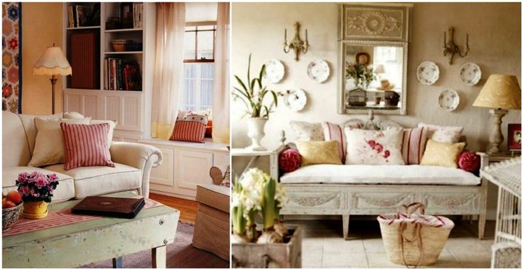 French decoration:αφήνει μια γλυκιά αίσθηση στο χώρο.