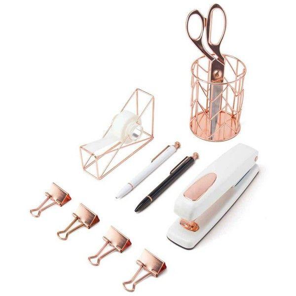 U Brands Ubrands Desk Accessory Kit Rose Gold By 150 Sar