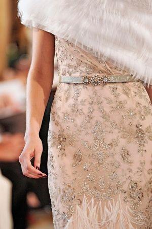 Pale pink and sparkling by ida: Oscar De La Renta, Fashion, Style, Wedding, Dresses, Oscardelarenta, Pink, Blush