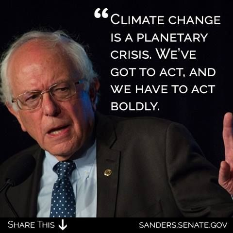 Climate change is a planetary crisis. We've got to act, and we have to act boldly.