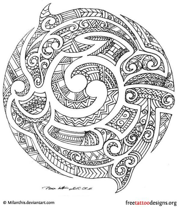 maori designs and patterns | ... dolphins, you'll like these designs as well : Dragon Tattoo Designs
