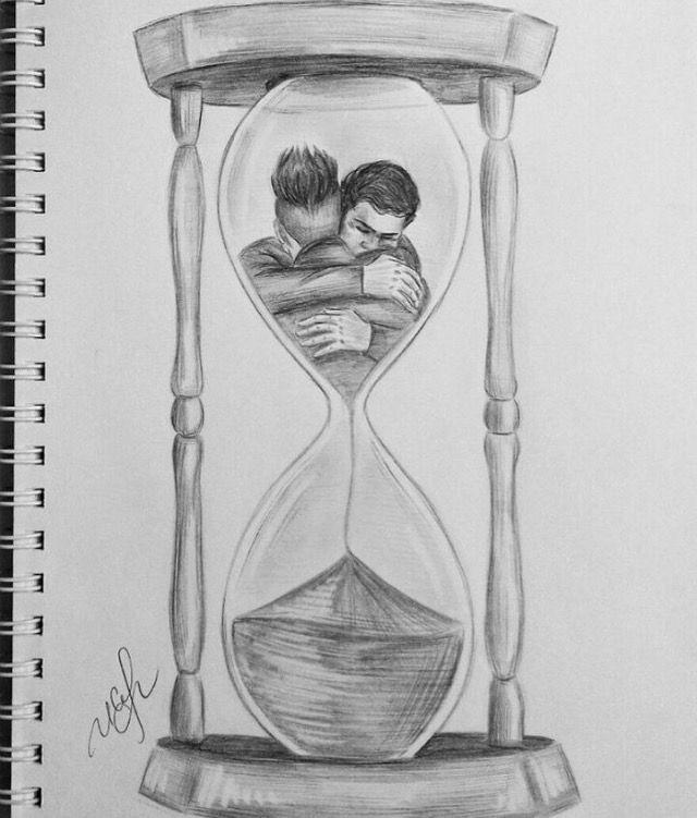 Sanduhr bleistiftzeichnung  27 besten Dibujos Bilder auf Pinterest | Zeichnen ...