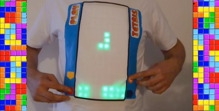 And Now You Can Play Tetris On Your Shirt | The Creators Project