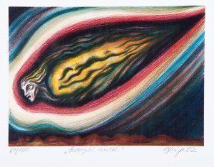 Róna Jaroslav | Padající anděl, 2002 | Aukce obrazů, starožitností | Aukční dům Sýpka