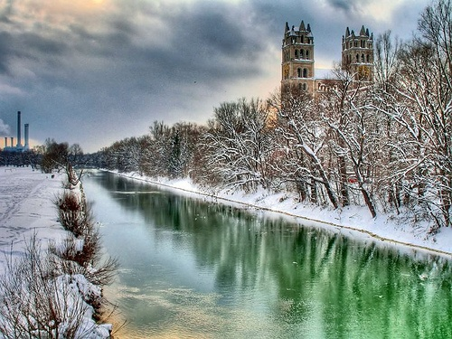 Isar River, Munich