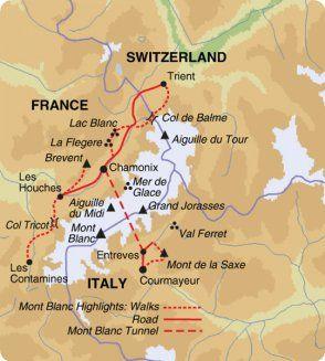 Courmayeur, Italia si trova nella regione Valle d'Aosta. La città di Courmayeur  è nel Nord Italia. Courmayeur si trova al confine tra Francia e Svizzera, condividono le montagne di Monte Bianco. Courmayeur è una regione di montagna alpi.