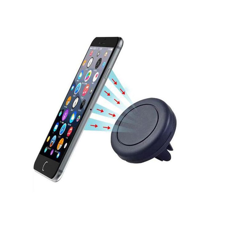 [Visit to Buy] Universal Car Air Vent Mount Holder Stand Magnetic Mobile Phone Holder For iphone 7 6S For Samsung Cell Phone Tablet GPS #Advertisement