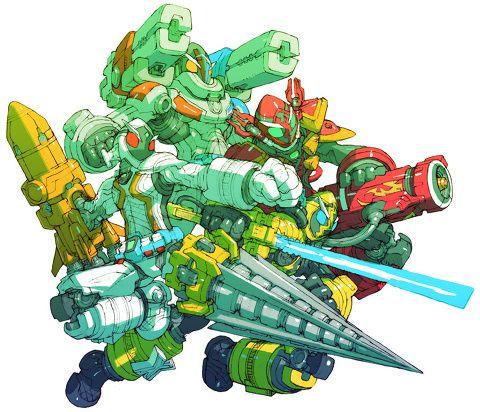 Kamen Rider Fourze All States by Toru Nakayama