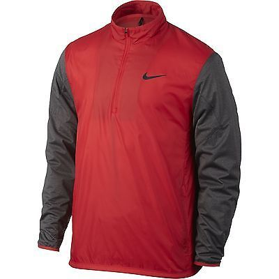 Coats and Jackets 181134: Nike Golf Mens 1 2-Zip Shield Top Lt Crimson Discontinued Color 726405-703 -> BUY IT NOW ONLY: $34.97 on eBay!