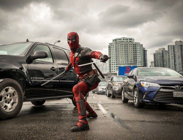 New Deadpool Images