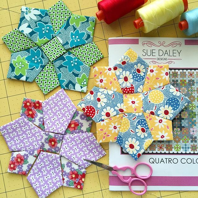 I fell for this quilt when I saw it @lilabellelane It's a learning curve for me…