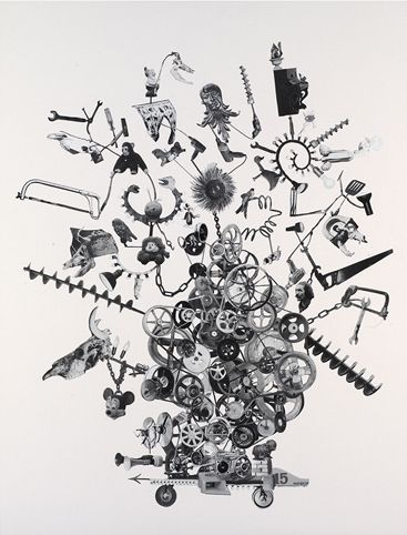 Michael Landy - H.2.N;Y. Machine Created to Tinguely Museum - 2010