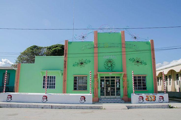Corozal Town Hall, Belize
