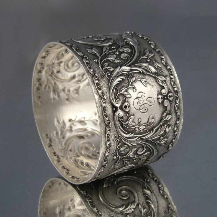 best 25 silver napkin rings ideas on antique