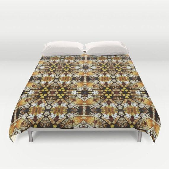 Afrikaanse Duvet Cover dubbel/Queen/King slaapkamer Bed door JUST3Js