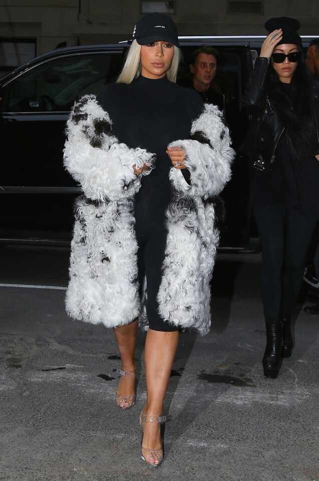 Kim Kardashian out in NYC/ February 12, 2016