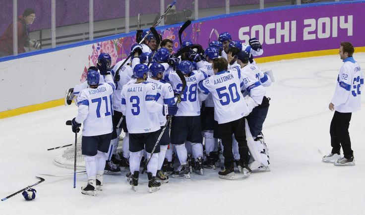 Hockey is one of Finland's favorite sports, they like playing and watching.