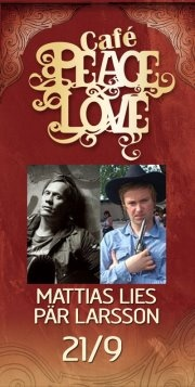 Gig 21/9 at Café Peace & Love