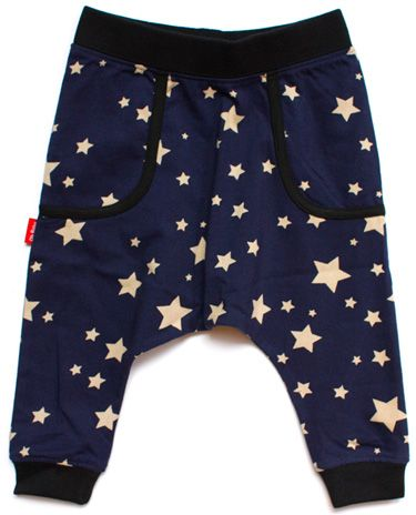 A must have for every boys wardrobe - Midnight Star Drop Crotch Trousers
