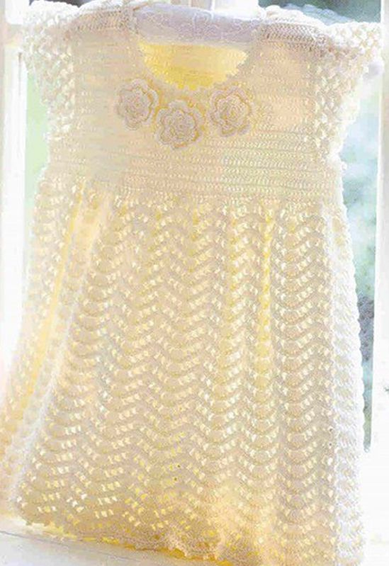 My friends crochet Good morning !! Today I have this beautiful crocheted dress for girls. Very cute, follows the graph. I hope you li...