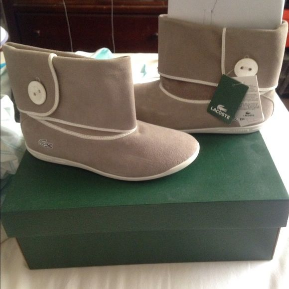 Lacoste shoes Women's size 6, never been worn. Lacoste Shoes Ankle Boots & Booties