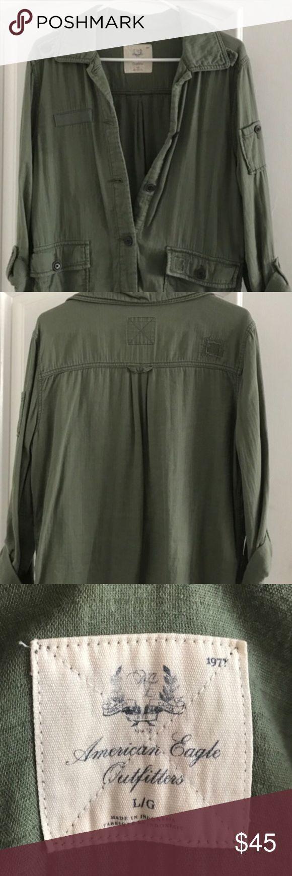 American Eagle Jacket American Eagle Jacket American Eagle Outfitters Jackets & Coats Utility Jackets