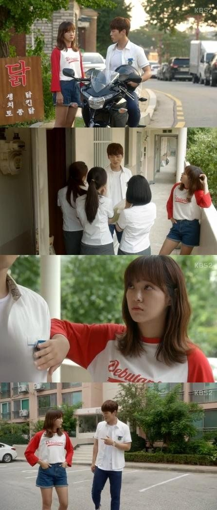 "[Spoiler] ""School 2017"" Kim Sejeong gets jealous over Kim Jung-hyun"