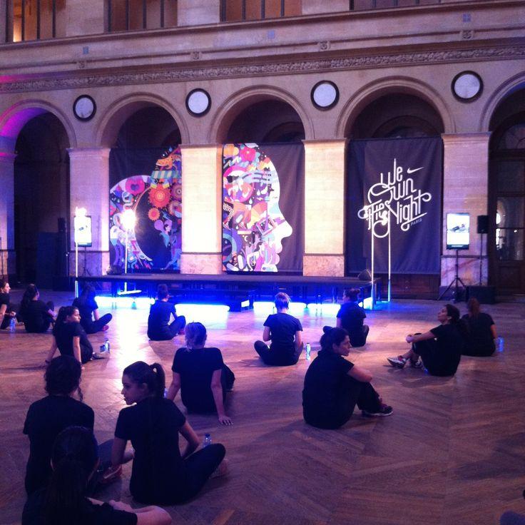 We own the night : le Nike Tranning Club au Palais Brogniart