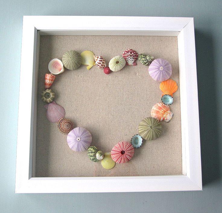 Beach Theme Home Decor Shadow Box Beach Gift: 1000+ Ideas About Seashell Shadow Boxes On Pinterest