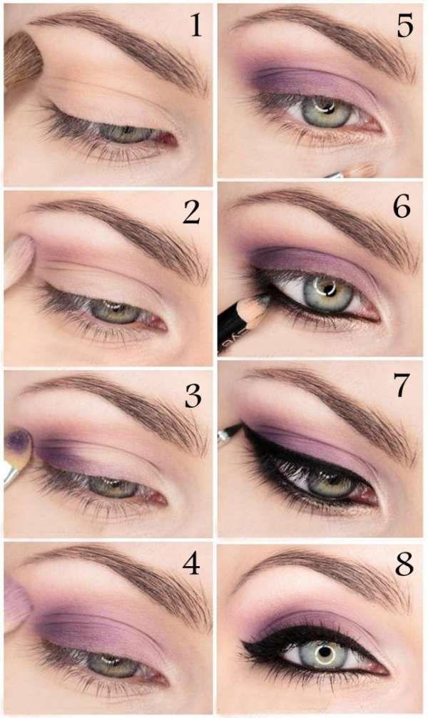 Souvent Les 25 meilleures idées de la catégorie Maquillage violet sur  IH87