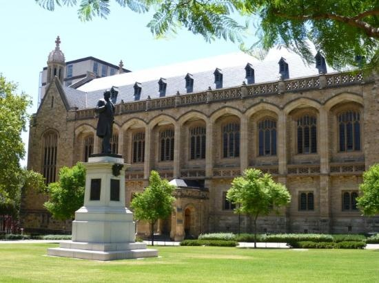 University of South Australia, Adelaide. Glorious campus.