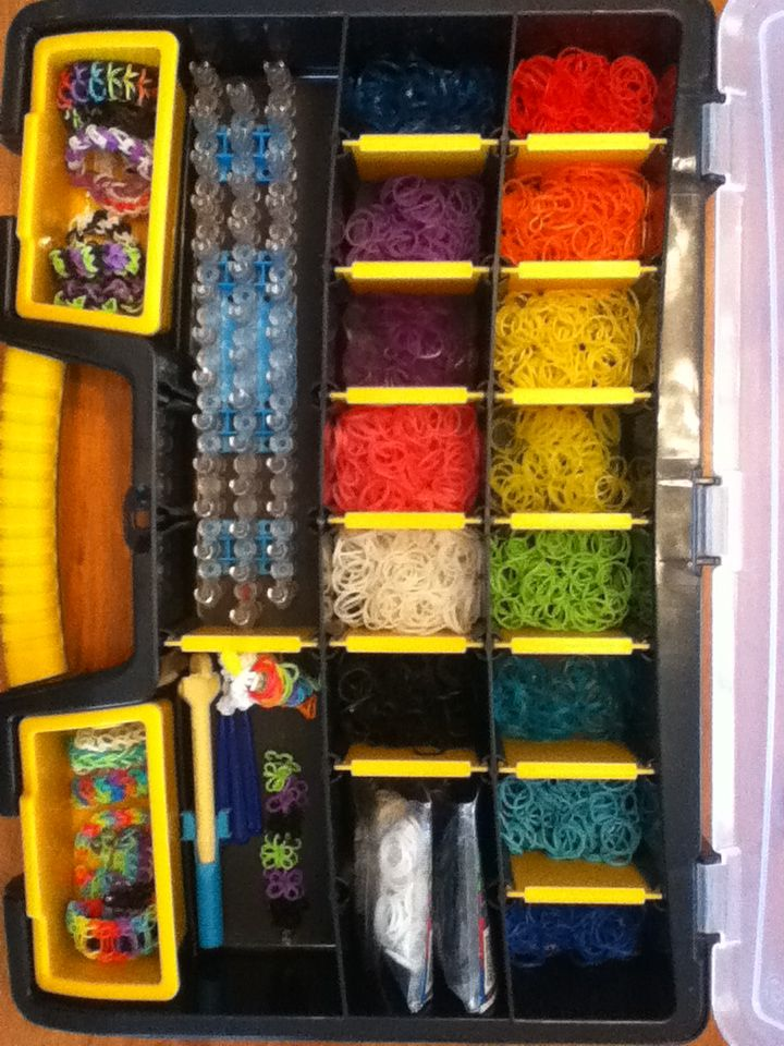 Updated version of my rainbow loom case