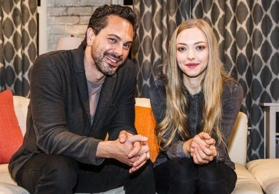 Amanda Seyfried and fiance Thomas Sadoski eloped in March. Sadoski revealed the news during his appearance on The Late Late Show with James Corden on March 16.