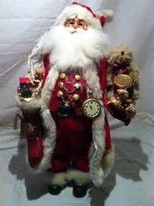 "RARE Demdaco Drolleries 16"" Deborah Henderson Christmas Santa Tree ..."