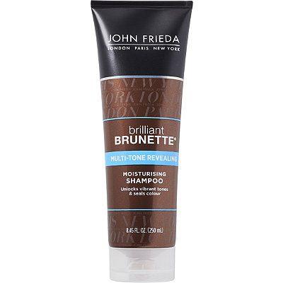 John Frieda Brilliant Brunette Multi-Tone Revealing Moisturizing Shampoo 8.45 oz
