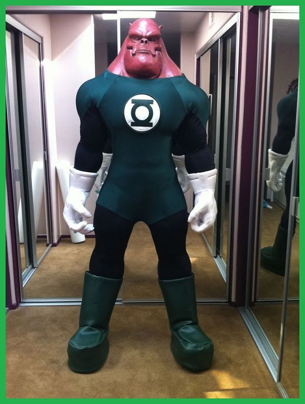 Cosplays em Homenagem aos 75 Anos do Lanterna Verde.