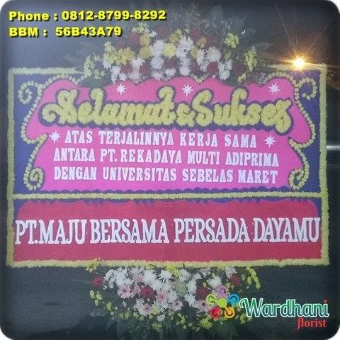 Bunga Papan Selamat Sukses SS933WF