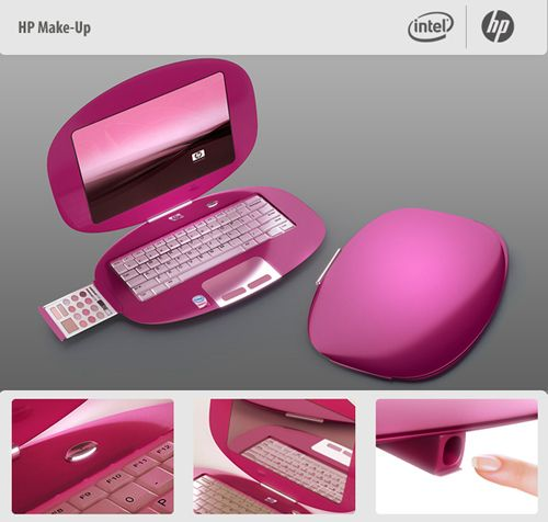 yup this will be my next laptop.   carries makeup, with features like one click mirror mode and a built-in on-nail printing device!