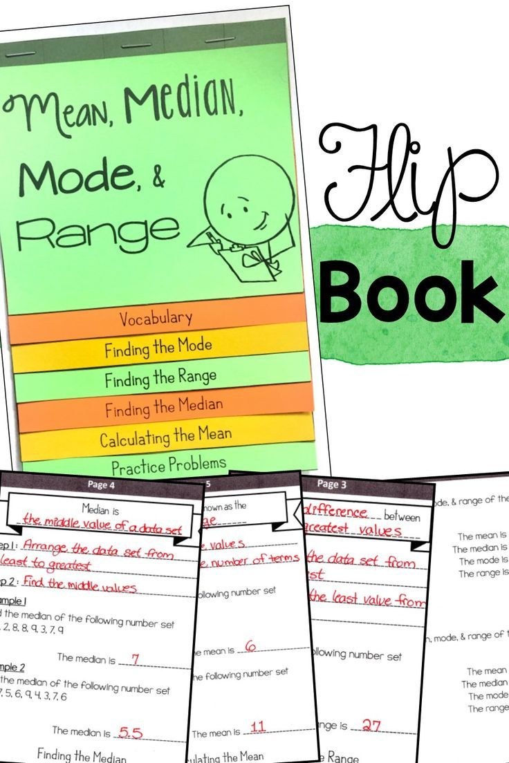 Measures Of Center Mean Median Mode And Range Flip Book Financial Literacy Worksheets Literacy Worksheets Maths Activities Middle School [ 1104 x 736 Pixel ]