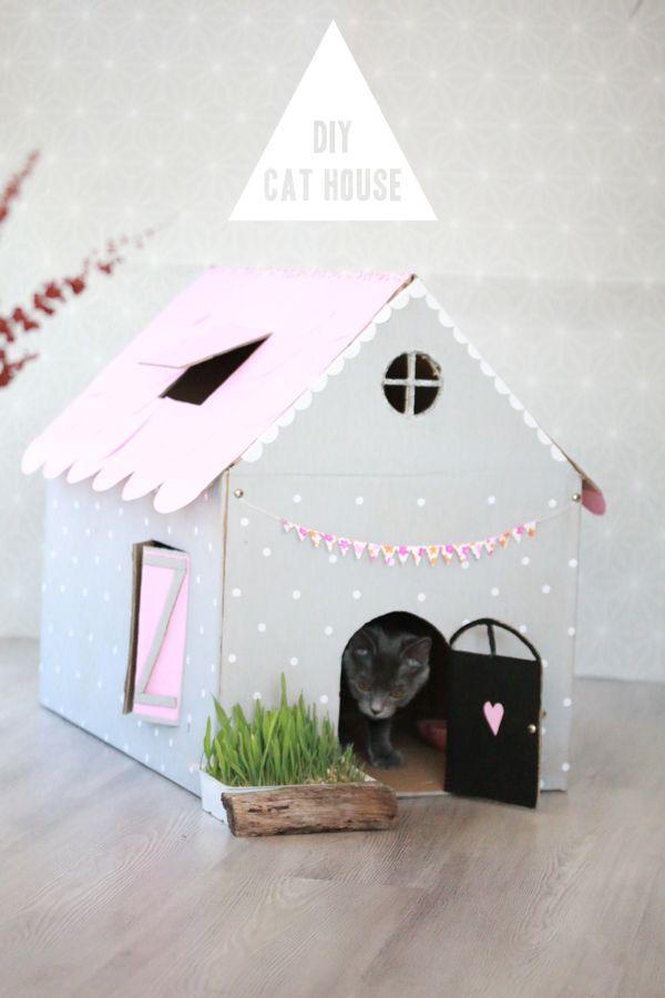 DIY- CAT HOUSE