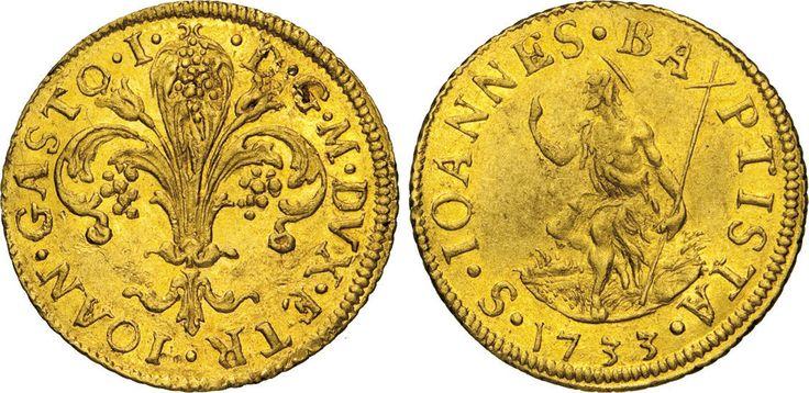 NumisBids: Numismatica Varesi s.a.s. Auction 65, Lot 320 : FIRENZE - GIOVANNI GASTONE I (1723-1727) Fiorino 1753. CNI 20 ...