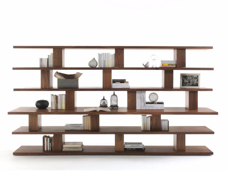 Cabinet Storage Stylish Solid Wood Bookcase Unique