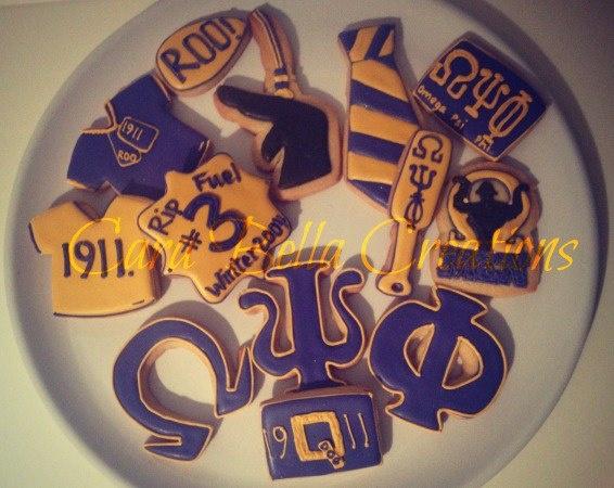 Omega Psi Phi cookies