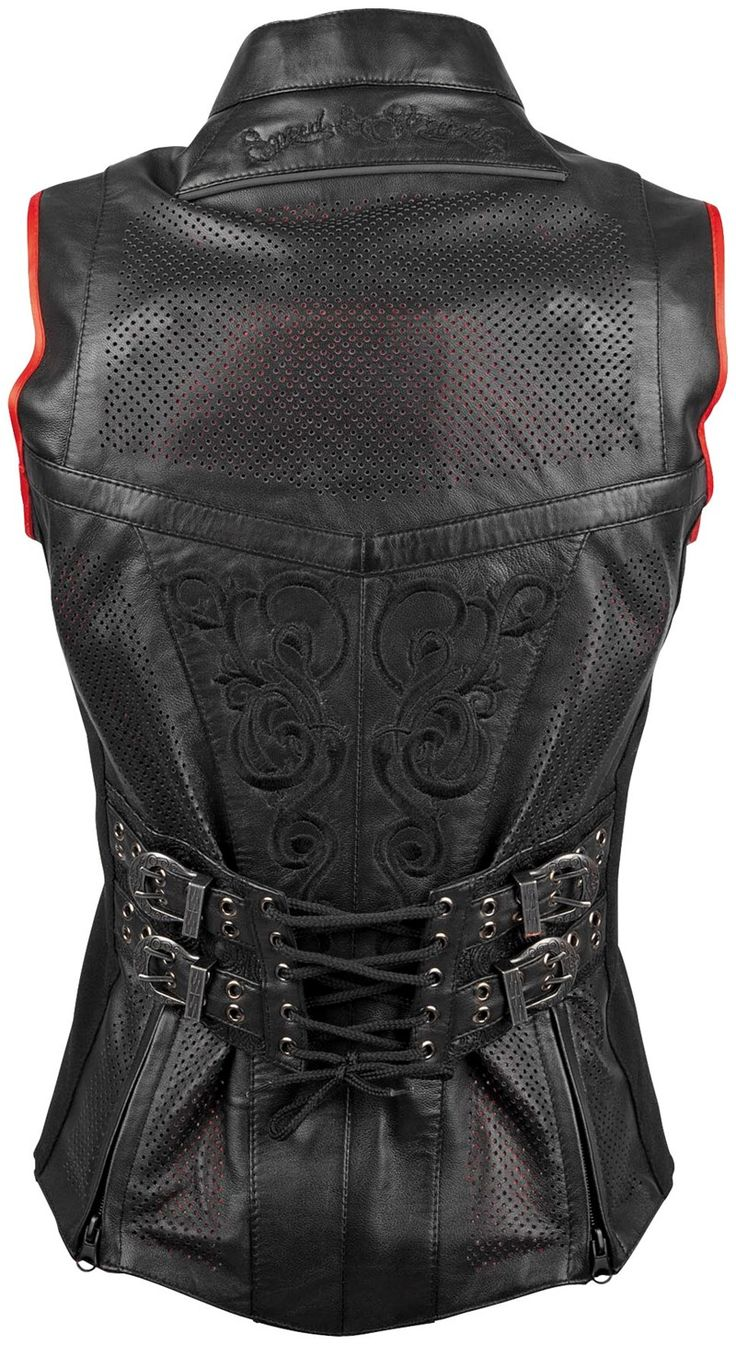 Speed  Strength Moto Lisa Womens Leather Vest