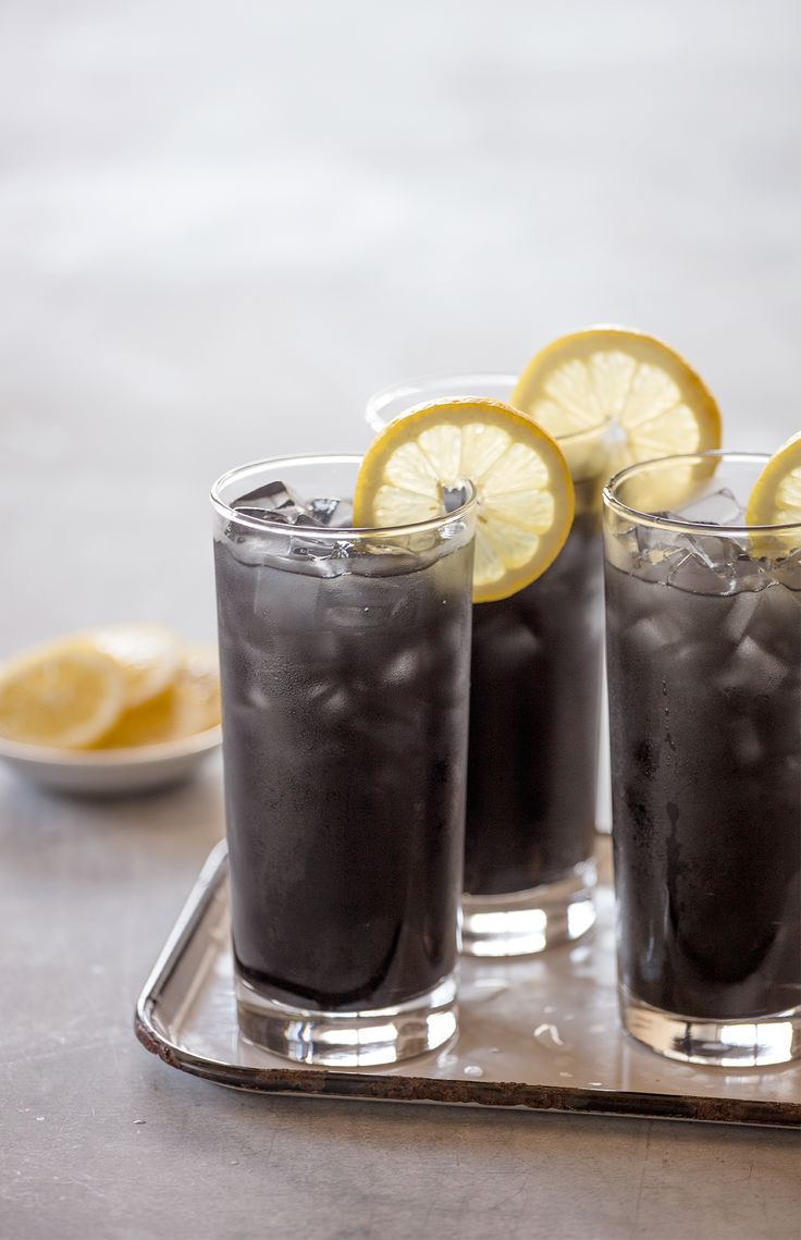 Trending: Activated Charcoal Lemonade